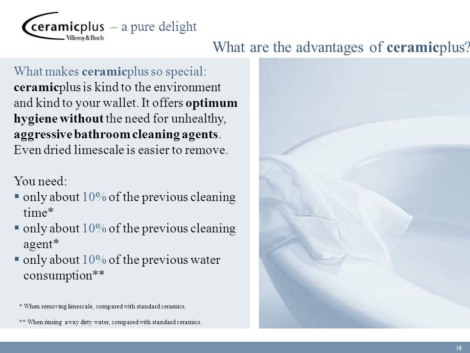 What are the advantages of ceramicplus.