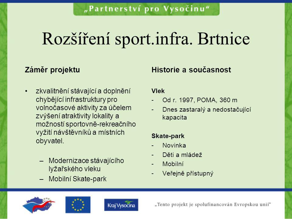 Rozšíření sport.infra.