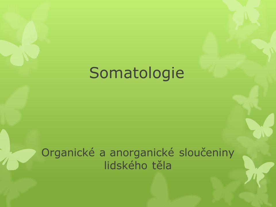 Podíl organických sloučenin