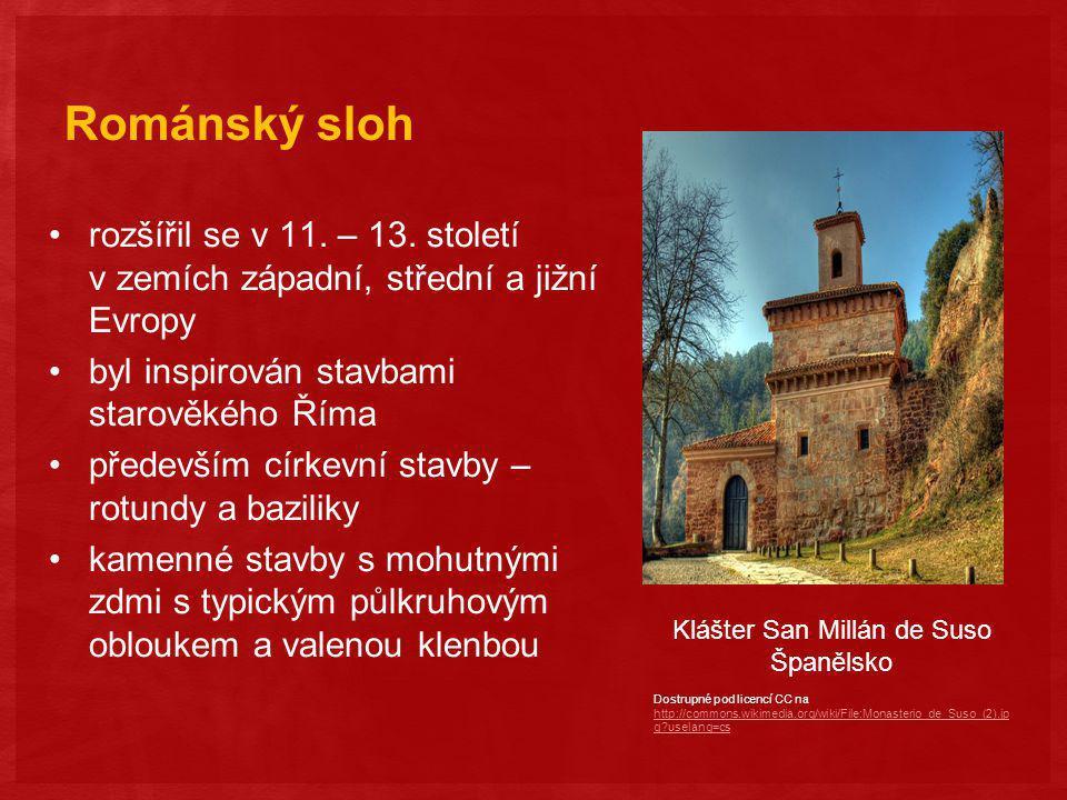 Gotický sloh rozvíjel se ve 12.– 15.