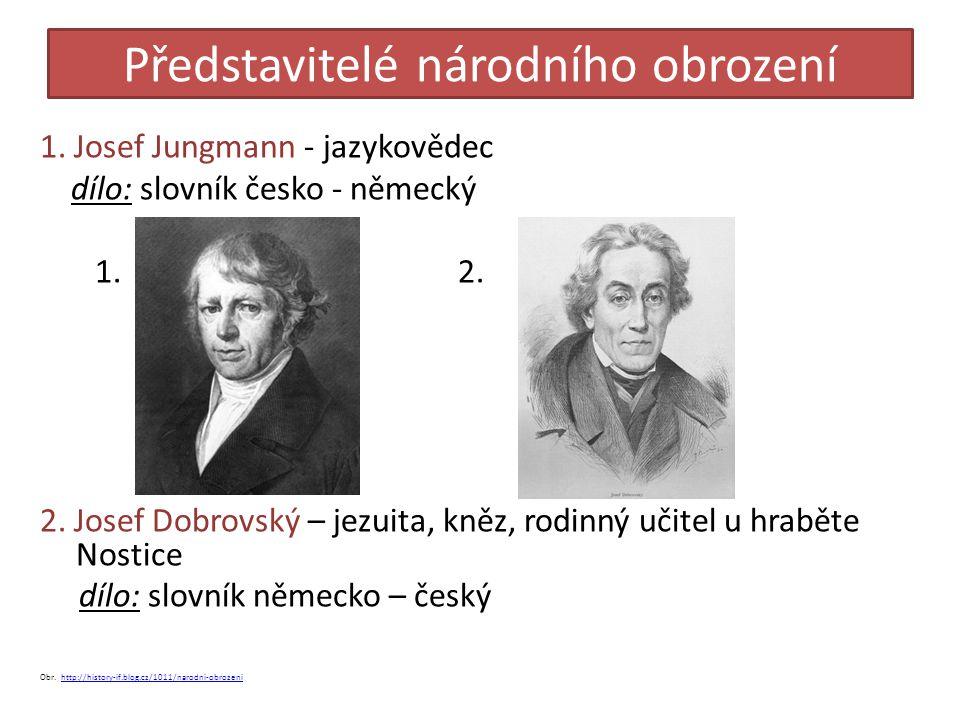 Představitelé národního obrození 3.