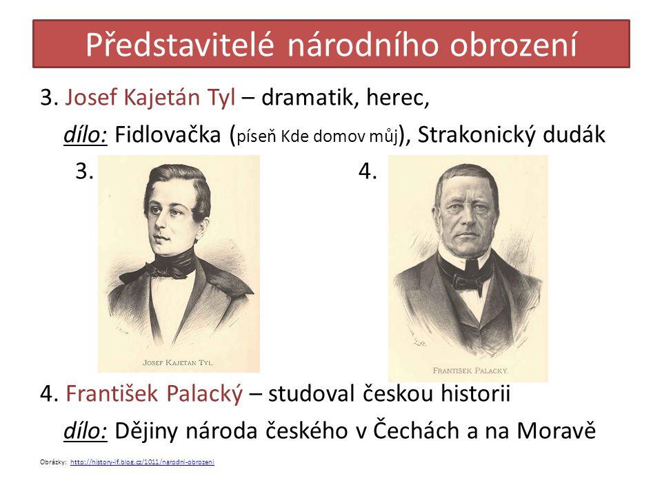 Představitelé národního obrození 5.