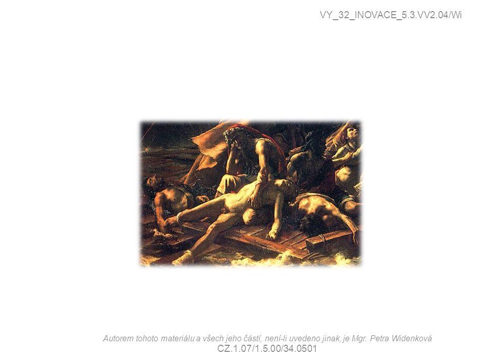 VY_32_INOVACE_5.3.VV2.04/Wi Autorem tohoto materiálu a všech jeho částí, není-li uvedeno jinak, je Mgr. Petra Widenková CZ.1.07/1.5.00/34.0501