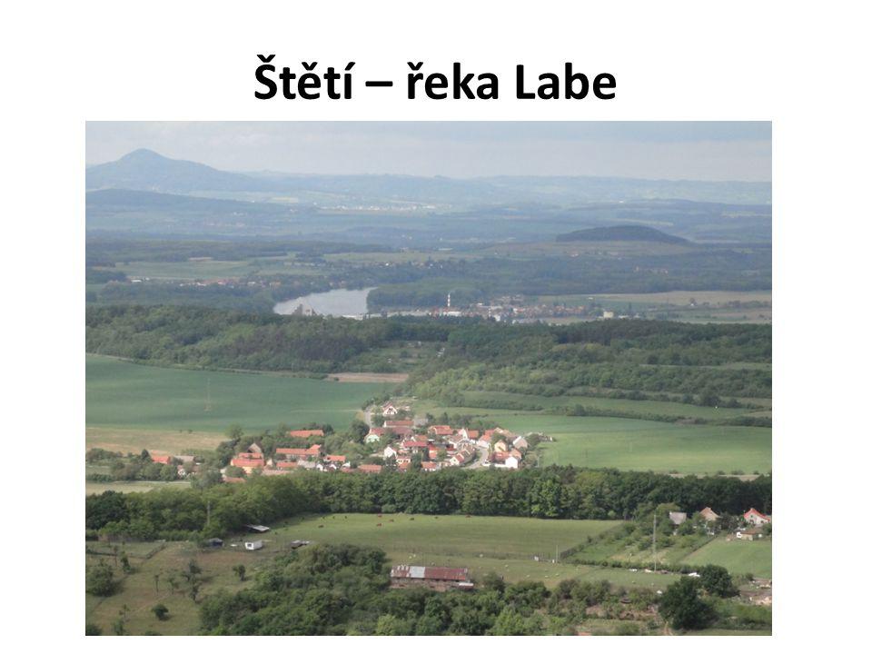 Štětí – řeka Labe