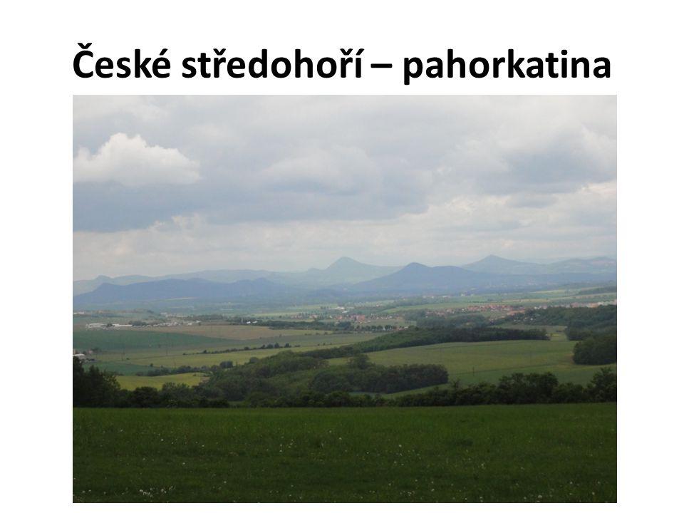 České středohoří – pahorkatina