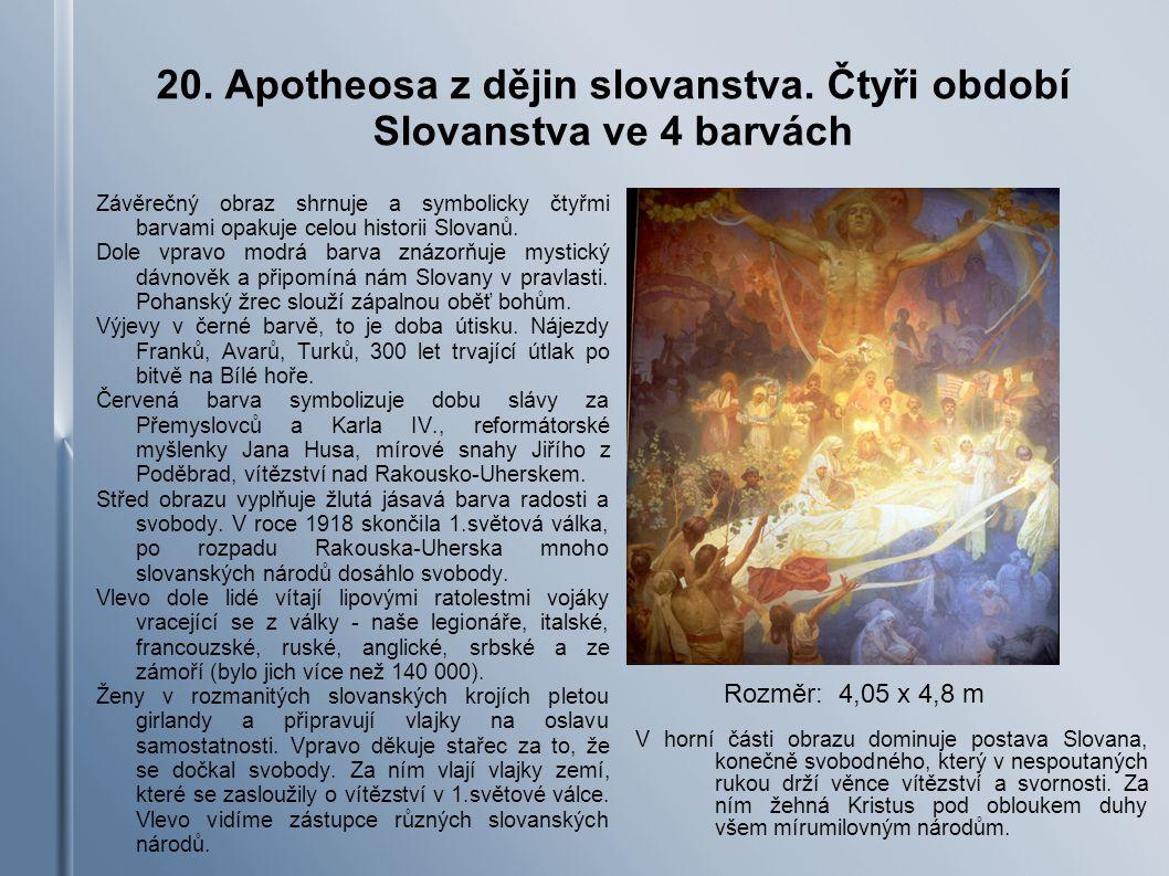 20.Apotheosa z dějin slovanstva.