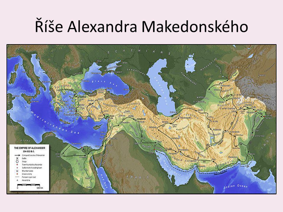 Říše Alexandra Makedonského