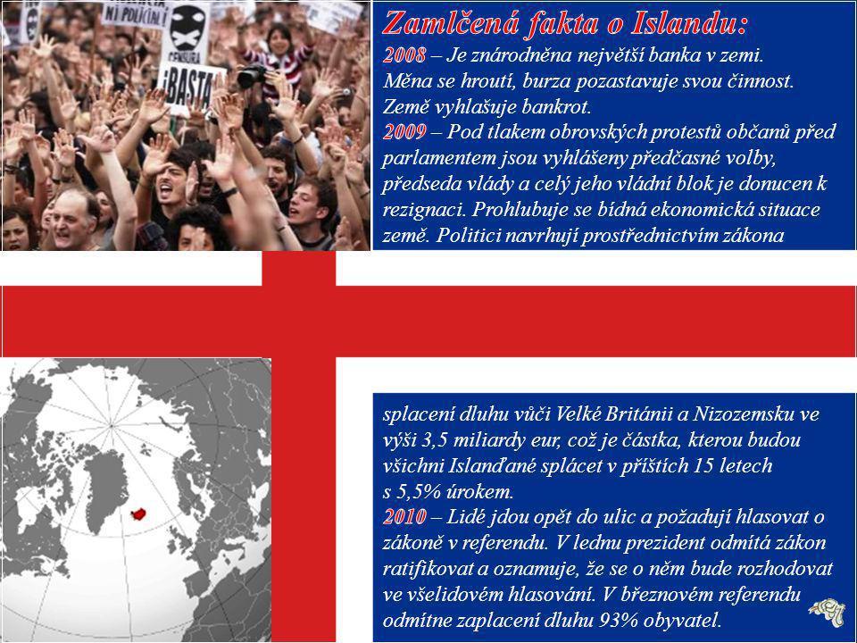 Cenzura revoluce na Islandu je nejlepším důkazem existence kontroly informací, jež mohou být nebezpečné pro politickou elitu.
