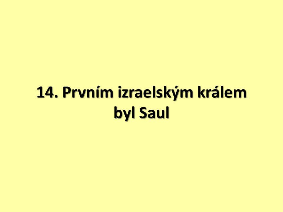 Z truhly moudrosti krále Šalamouna 1. Co bylo úkolem Samuela.
