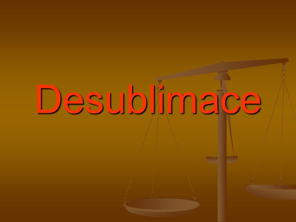 Desublimace