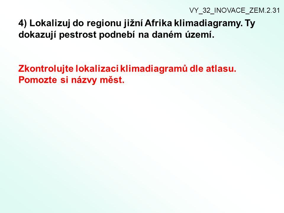 5) Obyvatelstvo jižní Afriky.Rozšiř pracovní text o další nové charakteristické poznatky.