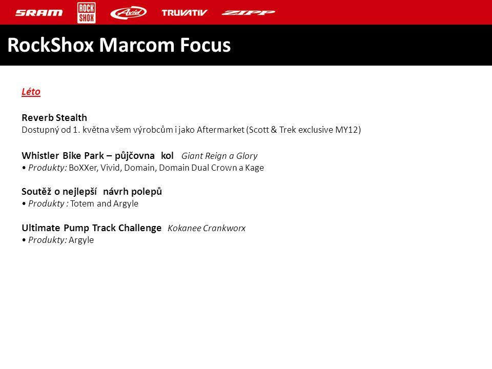 RockShox Marcom Focus Léto Reverb Stealth Dostupný od 1.