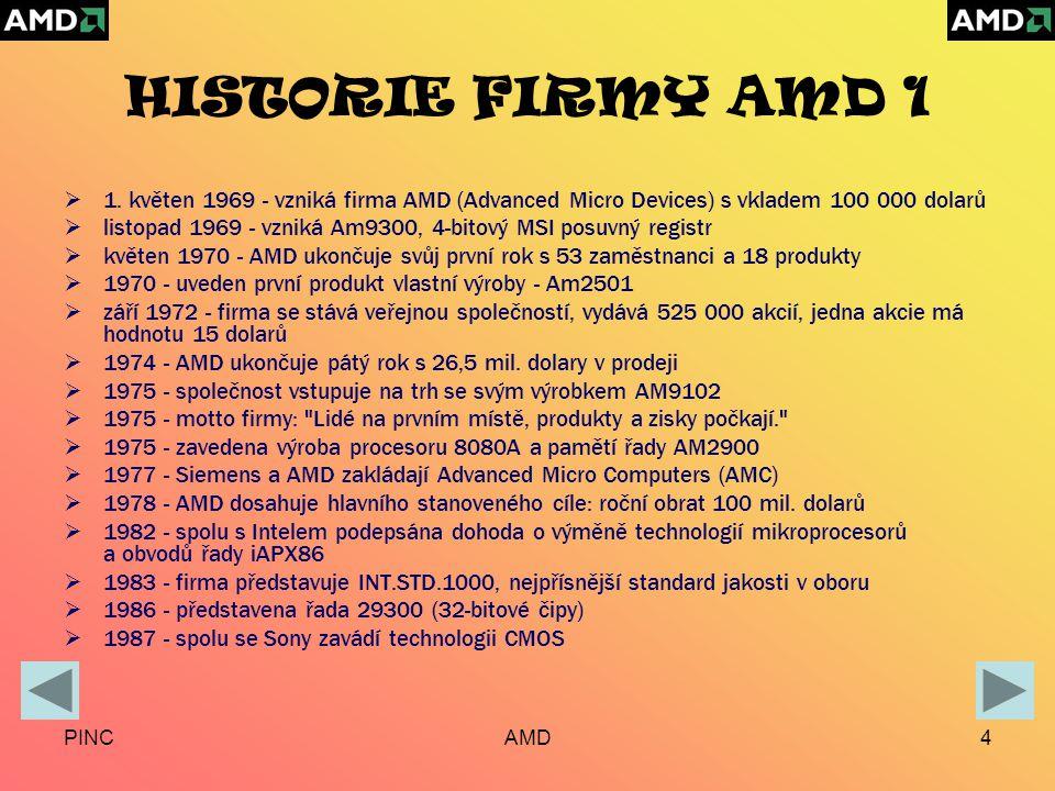 PINCAMD4 HISTORIE FIRMY AMD 1  1.