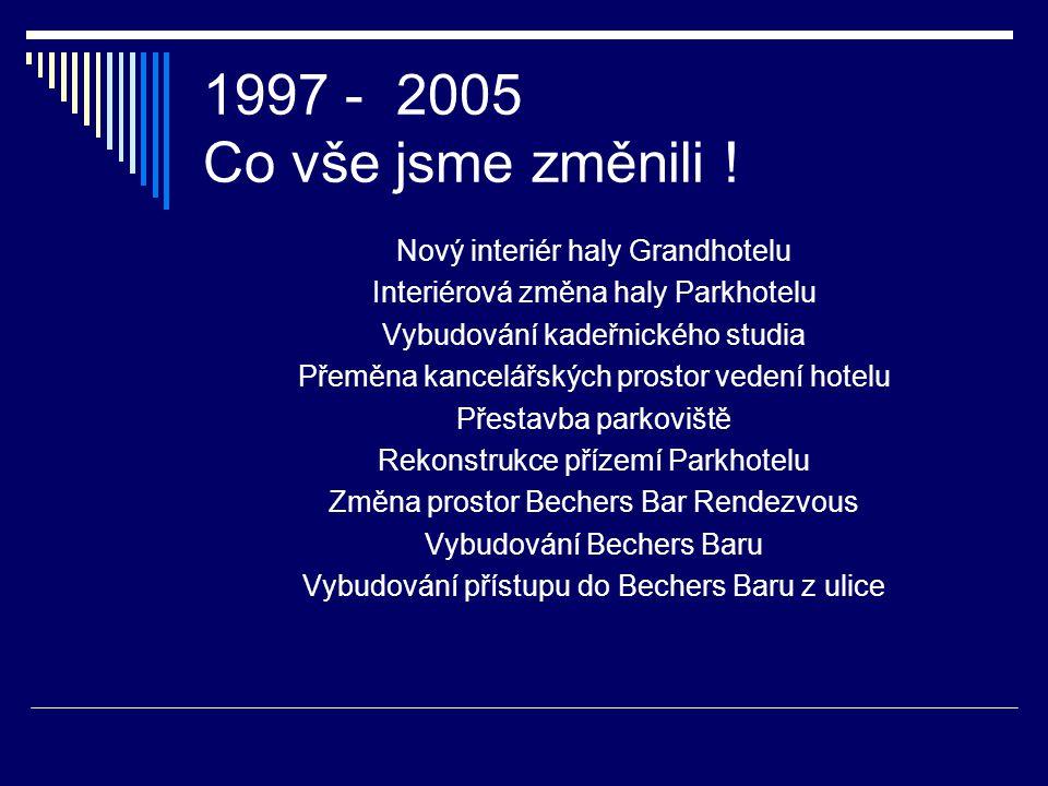1996 – 2002- 2005 pár čísel, která jsou zajímavá 1996 2002 %96 2005 %02 Obrat206 257 125 269 105 Výnosy205 263 128 262 100 Náklady243 253 104 266 105