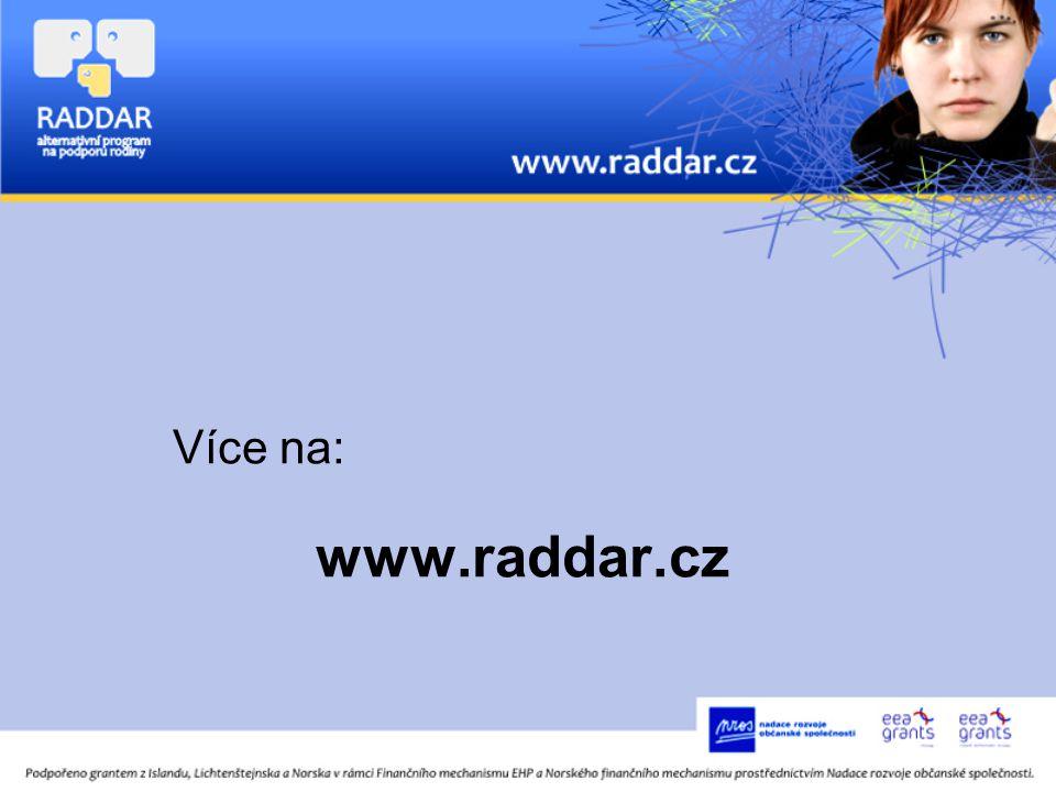 Více na: www.raddar.cz