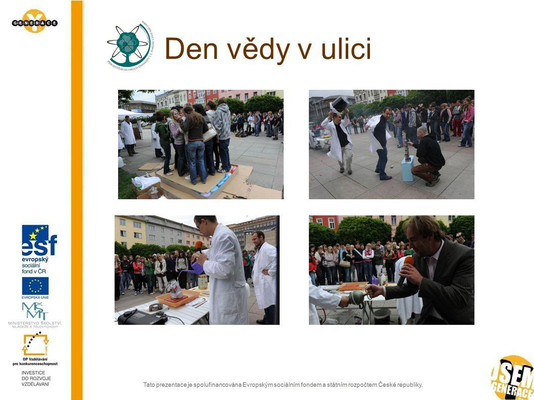 Den vědy v ulici