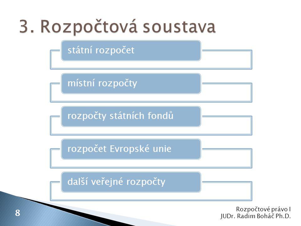 1.zásada každoročního sestavování a schvalování veřejných rozpočtů 2.