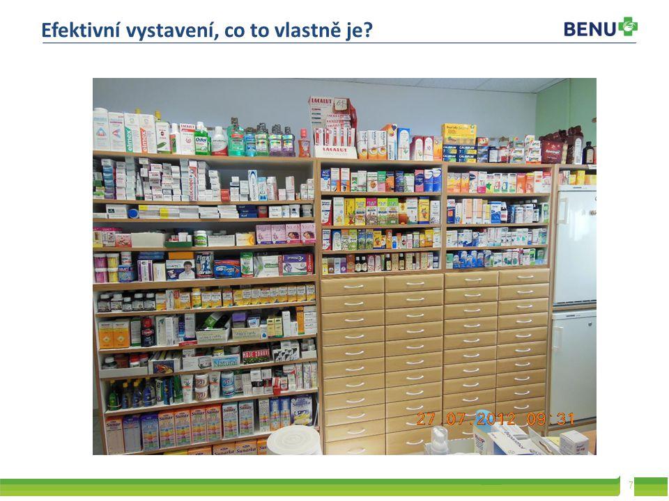 8 Všechny použité fotografie jsou nafocené přímo v lékárnách, případně stažené z jejich aktuálních prezentací v posledních 12 měsících.