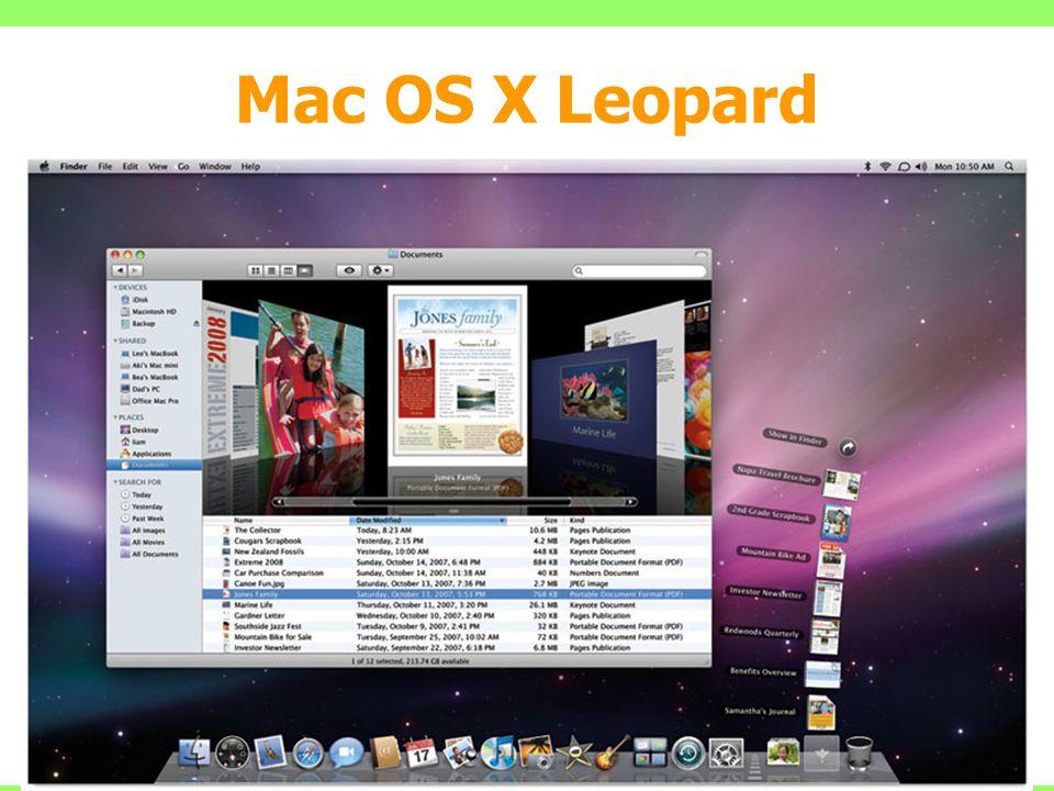 Mac OS X Leopard 36