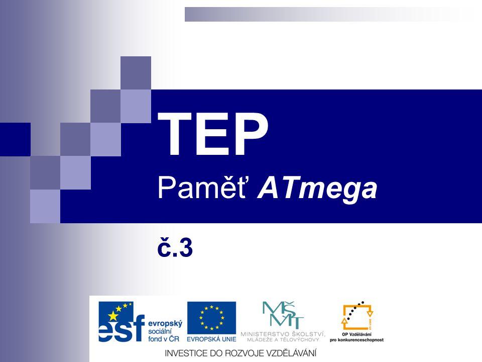 TEP Paměť ATmega č.3