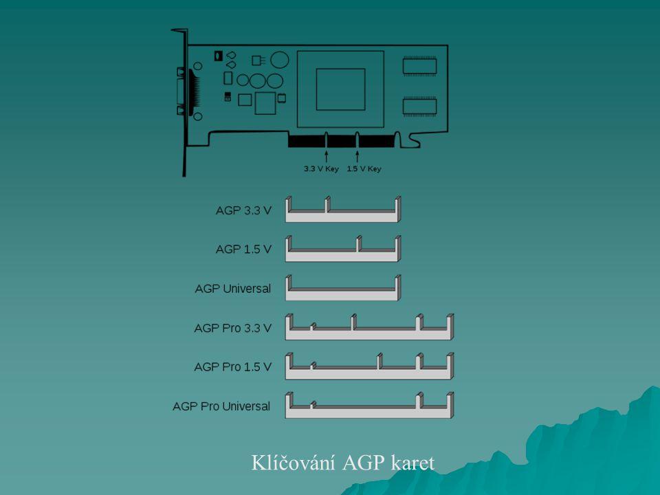 Klíčování AGP karet