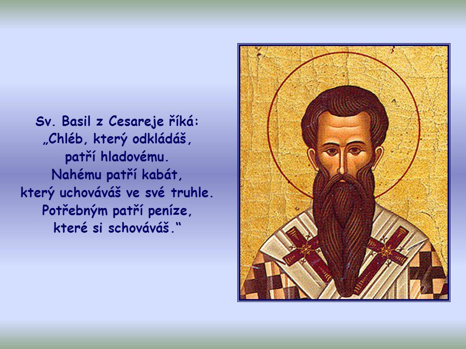 """Jak vysvětluje apoštol Pavel, nešlo o to, přivést někoho do tísně, aby se ulehčilo jiným, ale aby """"nastalo jakési vyrovnání (srov."""