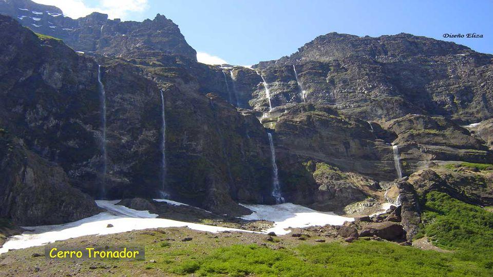 Cerro Tronador 3.491 m.