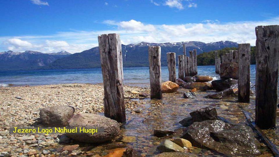 Jezero Lago Nahuel Huapi