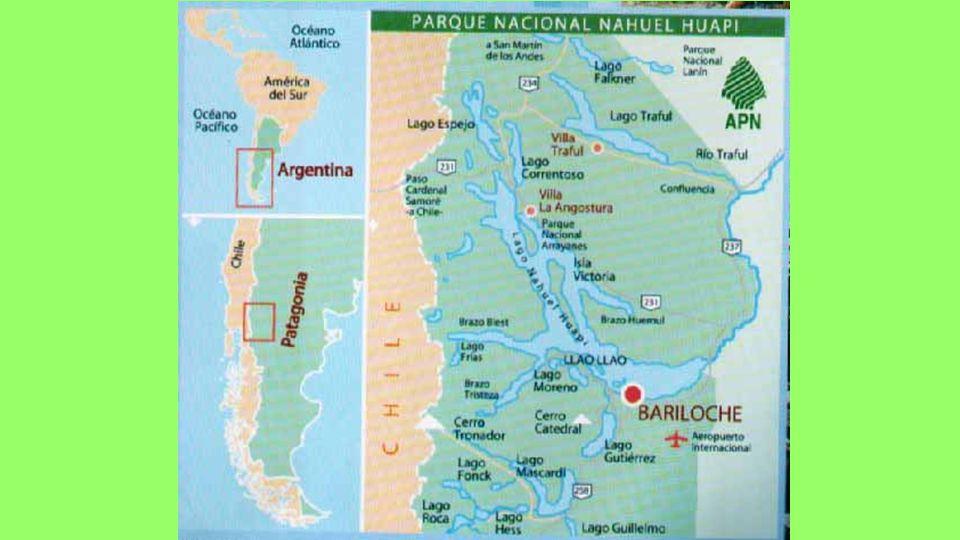 Národní park Nahuel Huapi je nejstarší národní park v Argentině.