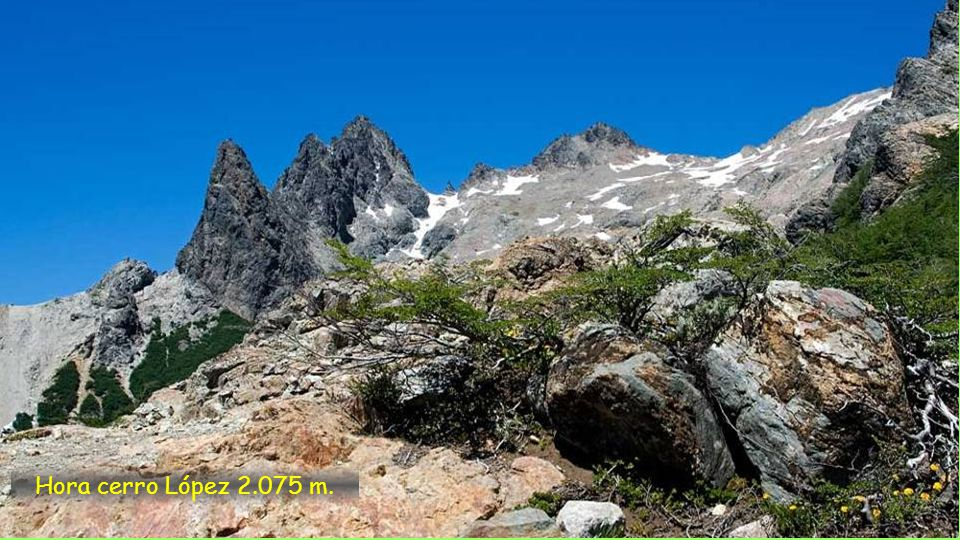 Hora Cerro Goye 1.630 m.
