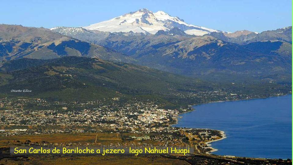San Carlos de Bariloche a jezero lago Nahuel Huapi