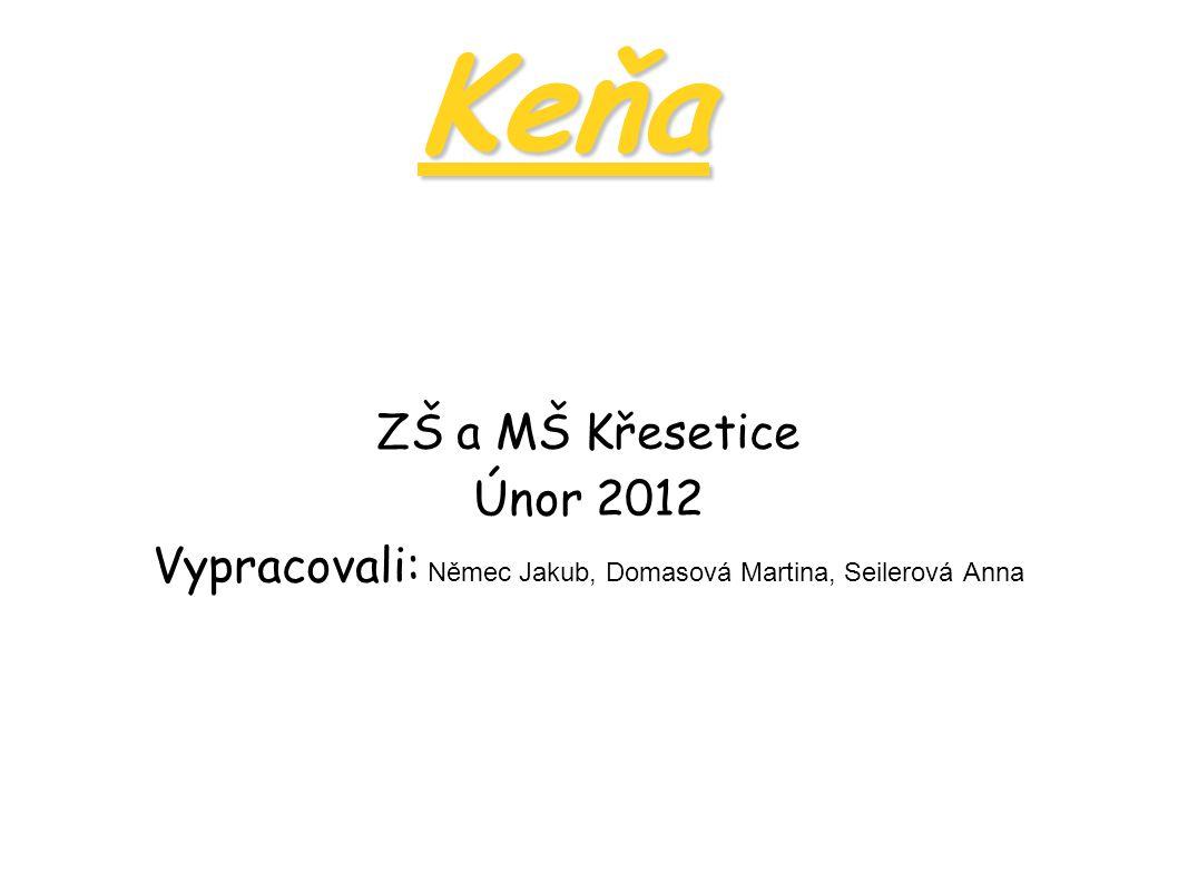 Keňa Mapa