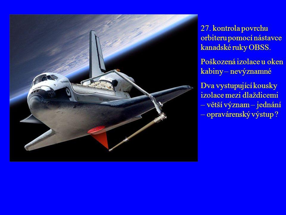 28.7. Přiblížení 11:18 UT spojení s ISS