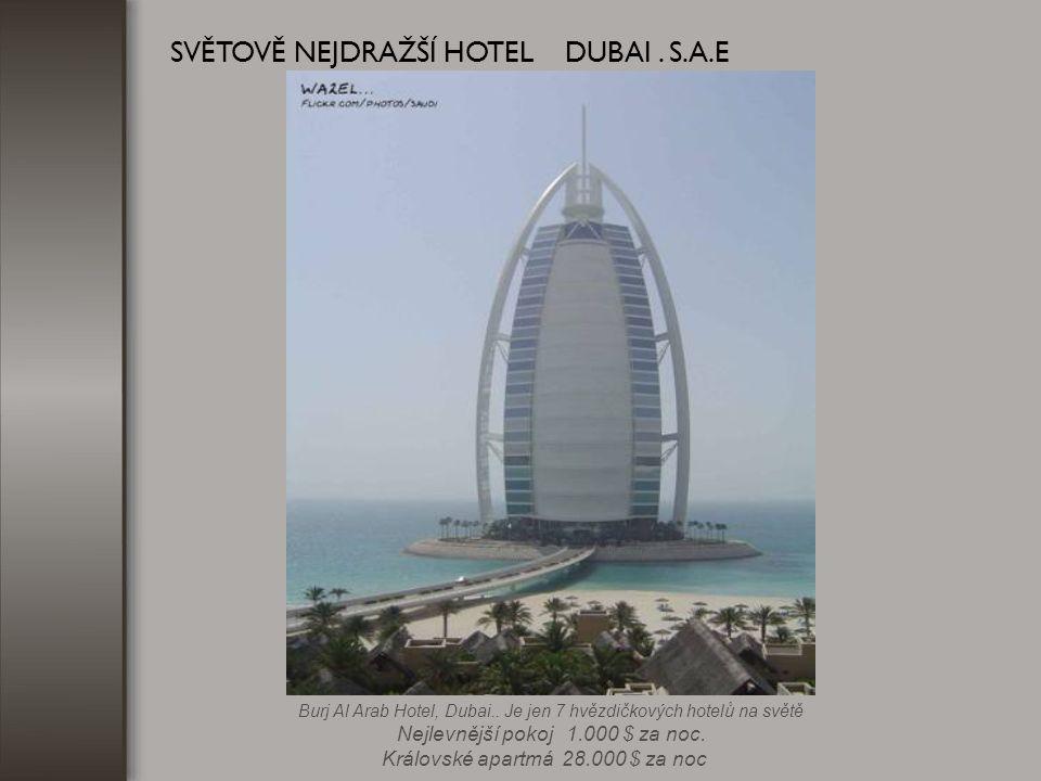 Dokončen bude v r. 2008 Burj Dubai....900 m VYSOKÝ SVĚTOVĚ NEJVYŠŠÍ BUDOVA... DUBAJ