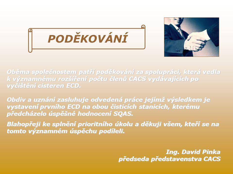 ∑10ECD = 8(ECD CZ) + 2(ECD SK) = 5 LET CACS 2006:2011 2006 2007 200820092010 2011