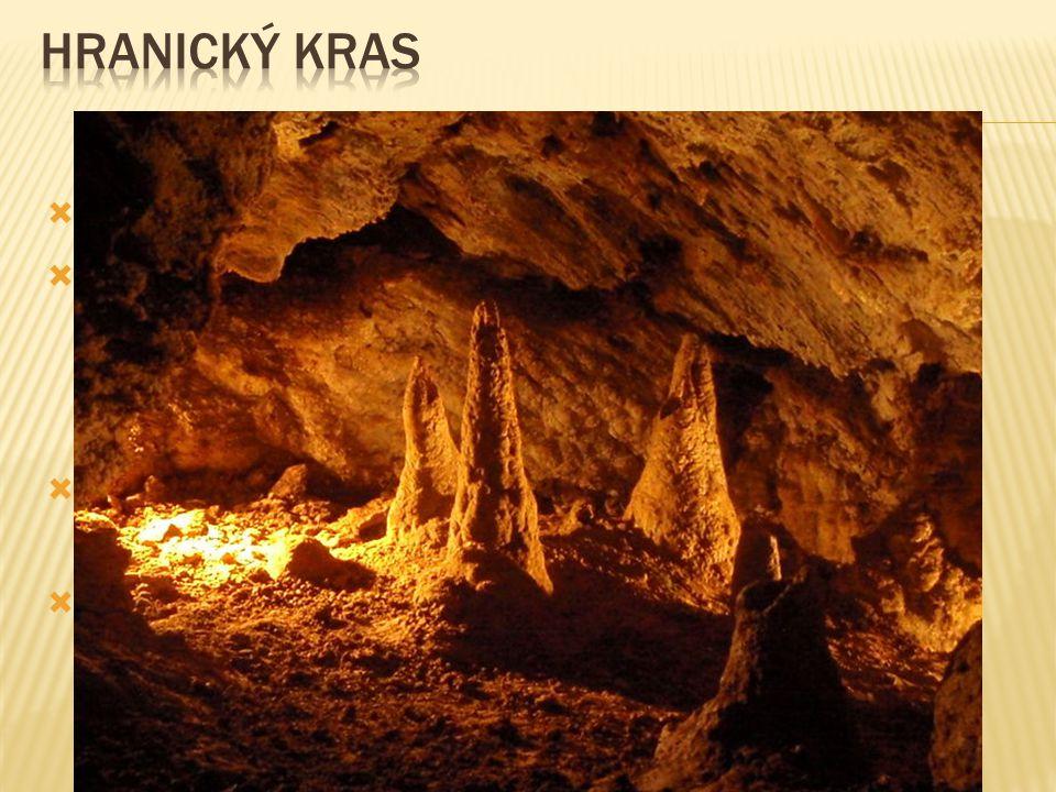 Zbrašovské aragonitové jeskyně  světovým unikátem ve Zbrašovských aragonitových jeskyních jsou gejzírové stalagmity, které mají kuželovitý tvar a jsou vysoké několik desítek centimetrů  vzácnější modifikace, aragonit, vytváří bílé jehlicovité krystalky  nejteplejší jeskyní v ČR s celoročně stálou teplotou 14 ° - 16 °C