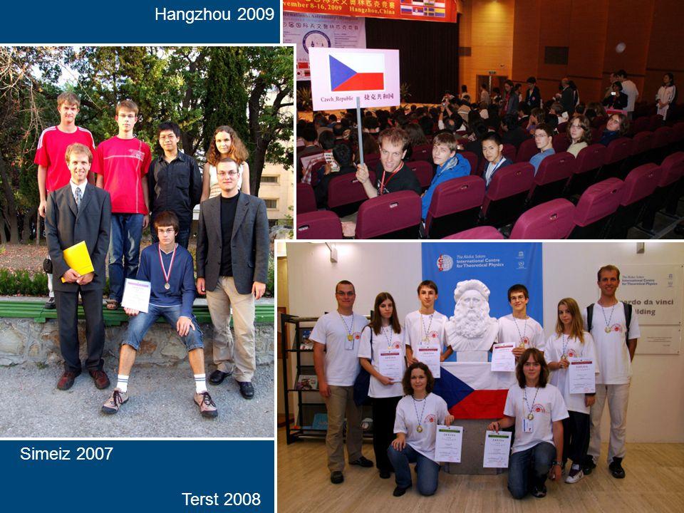 Hangzhou 2009 Terst 2008 Simeiz 2007