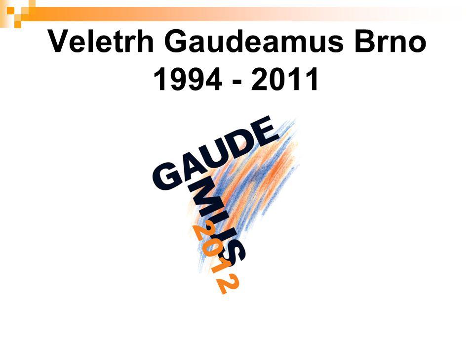 Veletrh Gaudeamus Brno 1994 - 2011