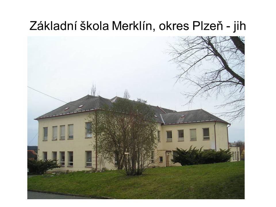 Základní škola Merklín, okres Plzeň - jih Realizované projekty Projekt podpořený MŠMT, EU – peníze školám