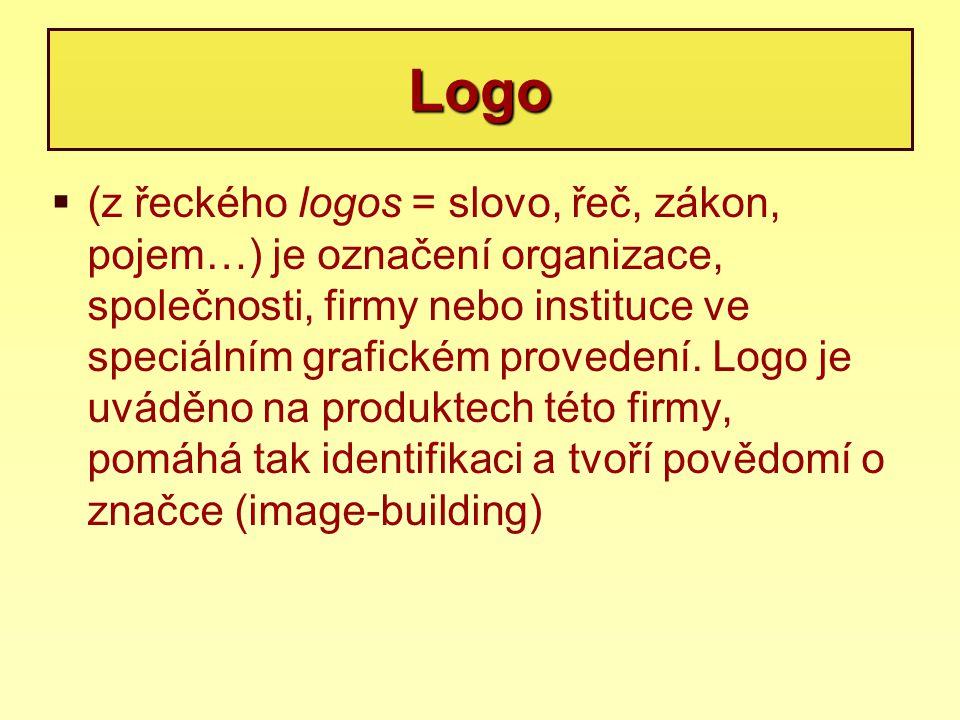  (z řeckého logos = slovo, řeč, zákon, pojem…) je označení organizace, společnosti, firmy nebo instituce ve speciálním grafickém provedení. Logo je u