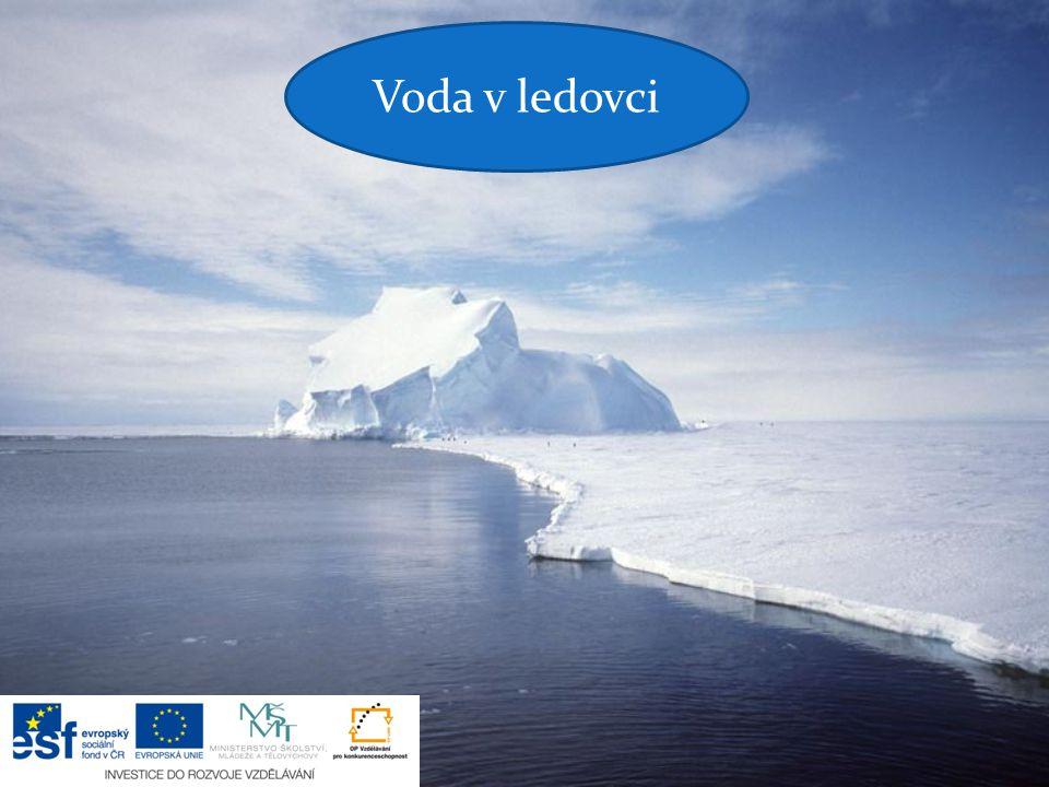 Voda v ledovci