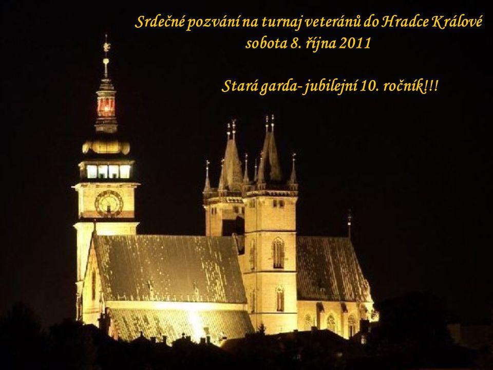 Srdečné pozvání na turnaj veteránů do Hradce Králové sobota 8.