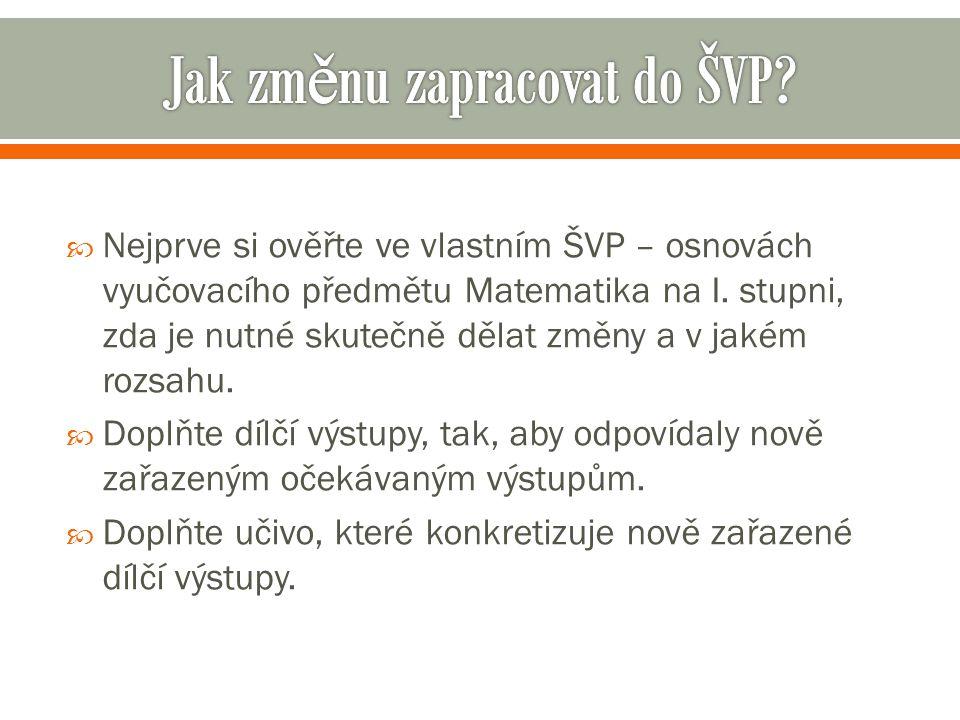 Prezentace zpracována s využitím Průvodce úpravami RVP ZV na MP www.rvp.cz Děkuji Vám za pozornost PaedDr.