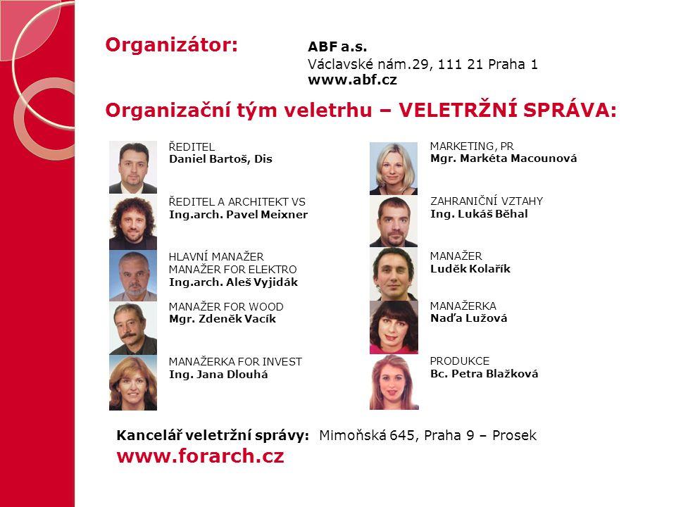 Organizátor: ABF a.s.