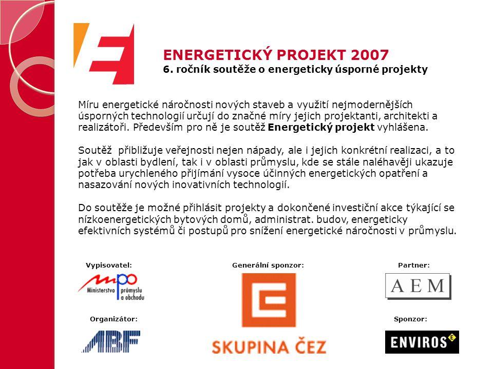 Míru energetické náročnosti nových staveb a využití nejmodernějších úsporných technologií určují do značné míry jejich projektanti, architekti a realizátoři.