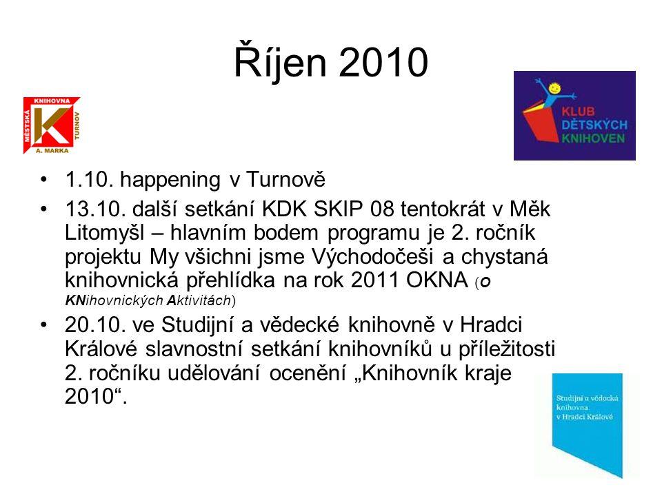 Říjen 2010 1.10. happening v Turnově 13.10.