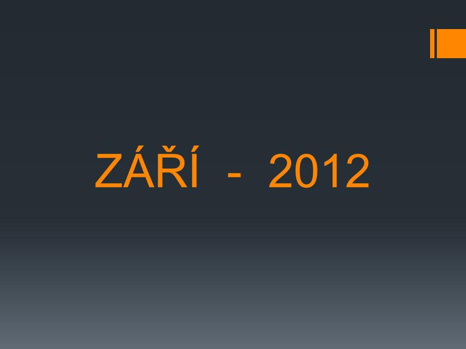 ZÁŘÍ - 2012
