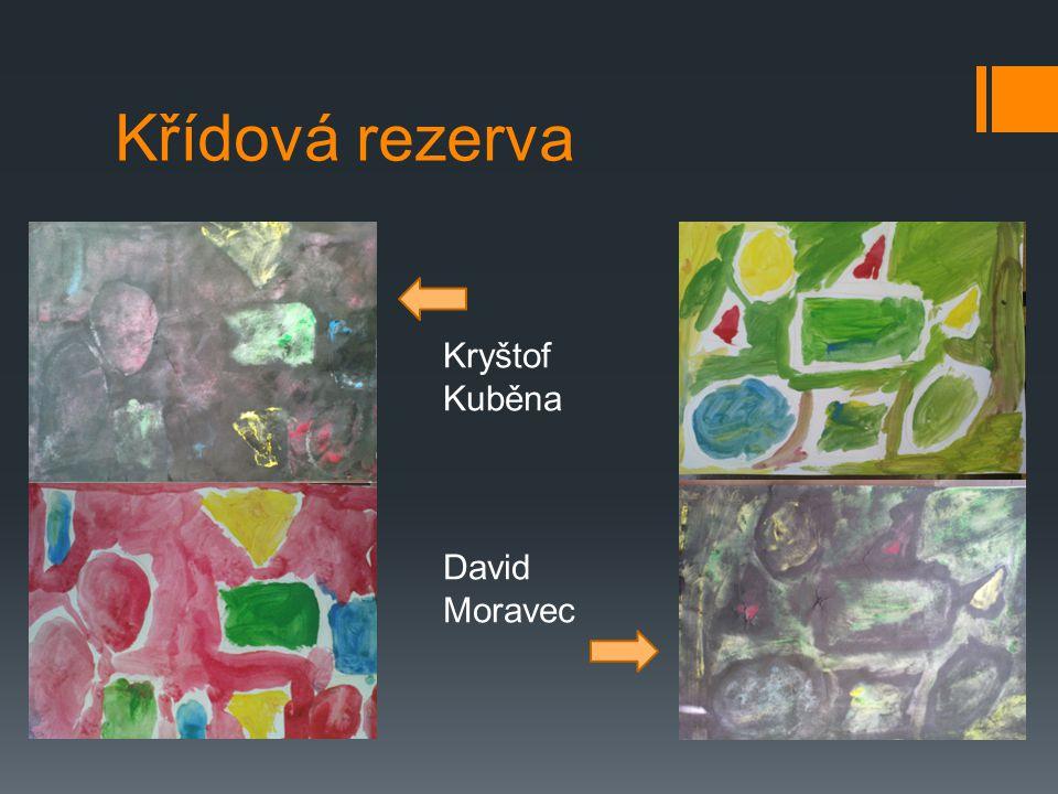 Křídová rezerva Kryštof Kuběna David Moravec