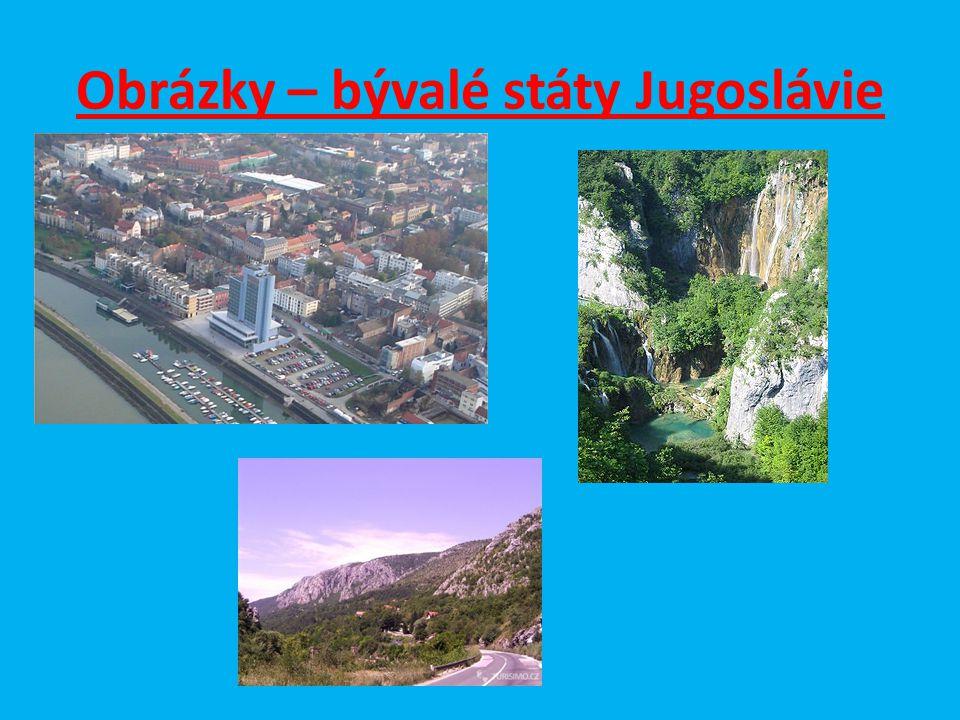 Otázky a úkoly : 1.Najdi na mapě města Bělehrad a Sarajevo a urči kde leží.