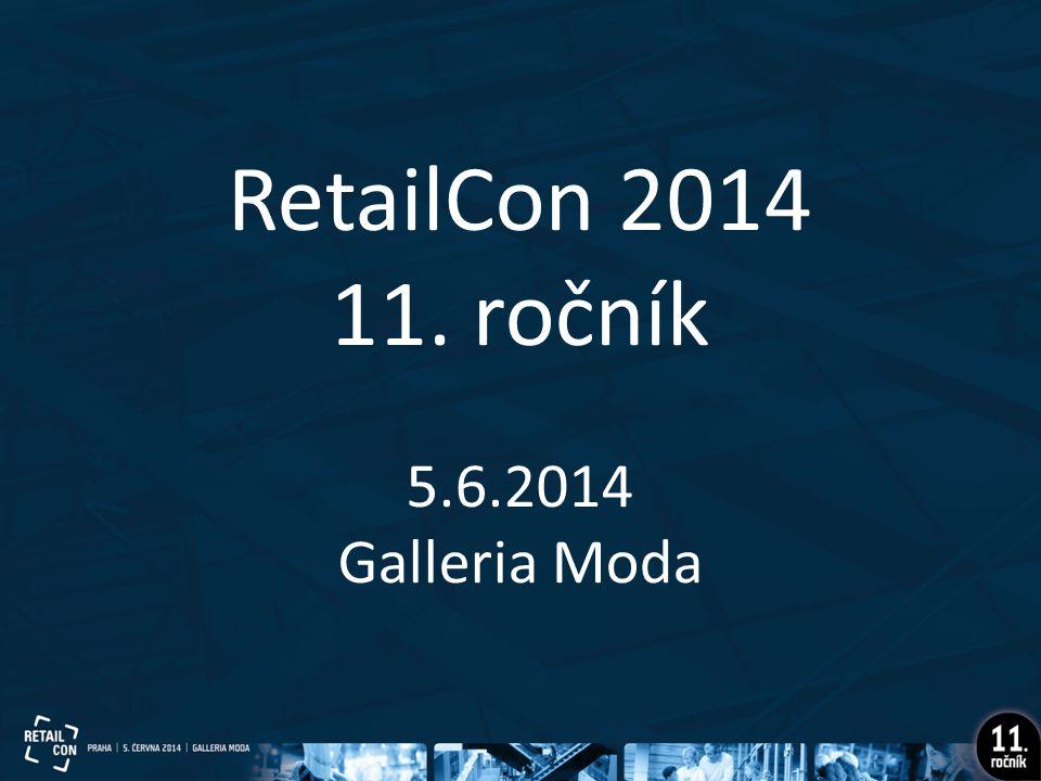 RetailCon 2014 11. ročník 5.6.2014 Galleria Moda